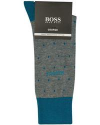 BOSS - Polka Dot Socks - Lyst