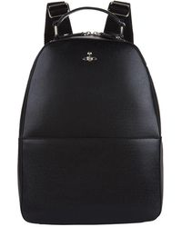 Vivienne Westwood - Leather Structured Backpack - Lyst