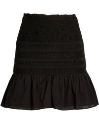 Sir. The Label Cecil Mini Skirt - Black
