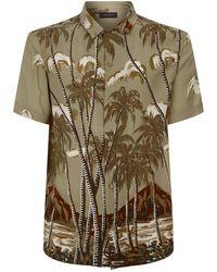 AllSaints - Nalu Hawaiian Shirt - Lyst