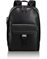 Tumi - Morrison Leather Backpack - Lyst