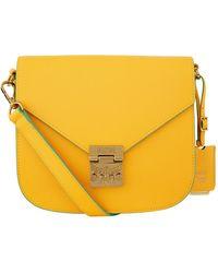 MCM - Small Patricia Park Avenue Shoulder Bag - Lyst