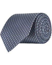 Eton of Sweden - Geometric Silk Tie - Lyst
