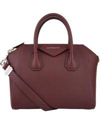 Givenchy Small Leather Antigona Tote Bag