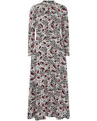 Markus Lupfer Winterbloom Floral Dress - Multicolour