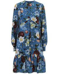 Erdem - Christy Floral Dress - Lyst