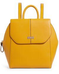 Harrods Greenwich Backpack - Yellow