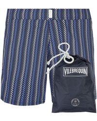 Vilebrequin Merise Fish Swim Shorts - Blue
