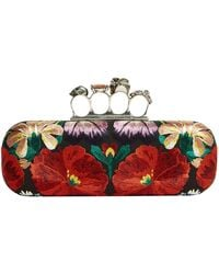 Alexander McQueen - Four-ring Tapestry Clutch - Lyst