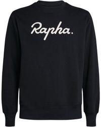 Rapha Logo Sweatshirt - Black