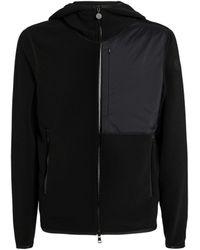 Moncler Zip-up Cardigan - Black