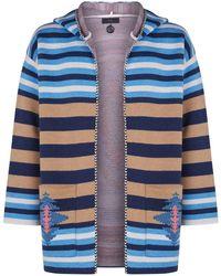 Alanui - Wool Hooded Cardigan - Lyst