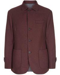 Brunello Cucinelli - Reversible Cashmere Jacket - Lyst