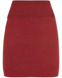 Zoe Jordan - Bates Side Stripe Mini Skirt - Lyst