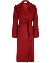 Max Mara | Camel Hair Belted Coat | Lyst