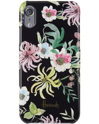 Harrods Floral Iphone X Case, White