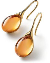 Baccarat Vermeil And Crystal Gala Drop Earrings - Multicolour