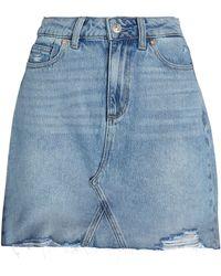 PAIGE Denim Aideen Skirt - Blue