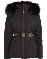 Fendi Reversible Ski Jacket - Black