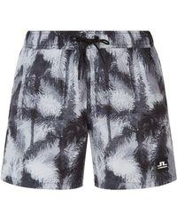 0c866520a7794 Paul Smith Navy Koi Hawaiian Towel in Blue for Men - Lyst