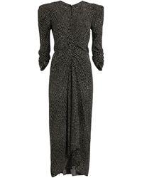 Isabel Marant Silk Albi Dress - Black