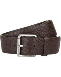 BOSS Orange - Grained Leather Belt - Lyst