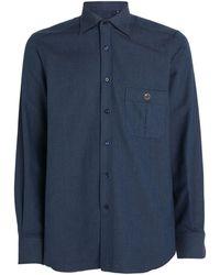 Stefano Ricci Denim Shirt - Blue