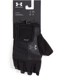 Under Armour Logo Training Gloves - Black