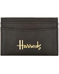 Harrods Novello Card Holder - Black