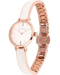 Halcyon Days Rose Gold-plated Agama Watch - Pink