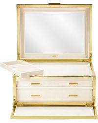 Aerin - Luxe Shagreen Jewellery Box - Lyst