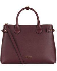 Burberry - Medium Banner Tote Bag - Lyst