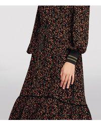 ME+EM Colour Sprinkle Maxi Dress - Black
