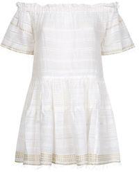 lemlem - Kelali Off-the-shoulder Dress - Lyst