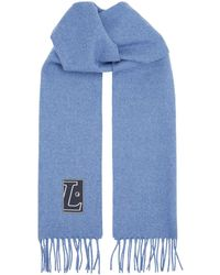 Lanvin - Wool Scarf - Lyst