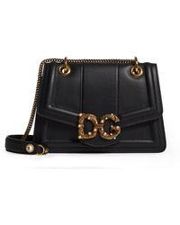 Dolce & Gabbana - Embellished Leather Bag - Lyst