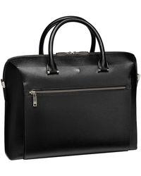Montblanc Large Leather 4810 Westside Document Case - Black