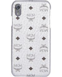 MCM Visetos Iphone Xs Max Case - Metallic