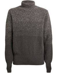 Oliver Spencer Knitted Wool Sweater - Grey