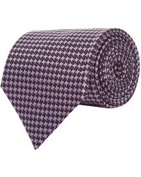 Tom Ford - Houndstooth Tie - Lyst