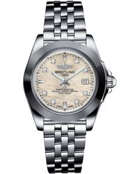 Breitling - Stainless Steel Galactic Sleek Quartz Watch 32mm - Lyst