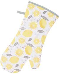 Harrods - Lemon Zest Oven Glove, White - Lyst