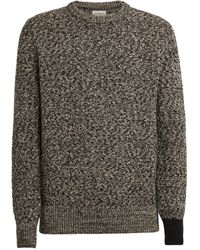 Oliver Spencer Wool Knitted Sweater - Black