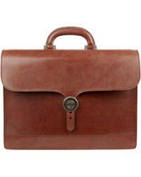 James Purdey & Sons Audley Briefcase - Brown