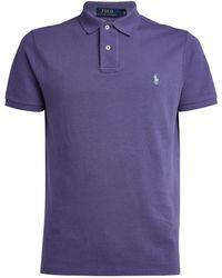 Polo Ralph Lauren Cotton Polo Shirt - Purple