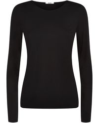 Wolford Pure Pullover Top - Black