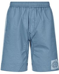 b2bef3b207102 Stone Island B0643 Swim Shorts In Lavender for Men - Lyst