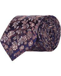 Harrods - Floral Tie - Lyst