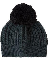 545990443b3 Sandro - Beryl Pom Pom Beanie Hat - Lyst