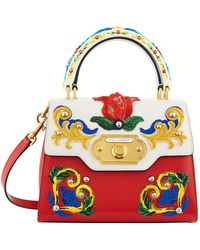 Dolce & Gabbana - Welcome Majolica Top Handle Bag - Lyst